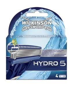 4 Lames de rasoirs Wilkinson Sword Hydro 5 [Article Panier Plus]