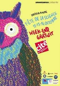 Entrée gratuite pour la cité des Sciences (Du 12 au 14 Octobre)