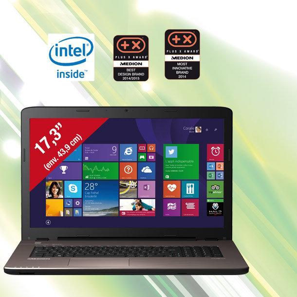 "PC portable 17,3"" Medion akoya 7416 - i5-5200U"
