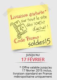 Livraison standard gratuite dès 10€ HT