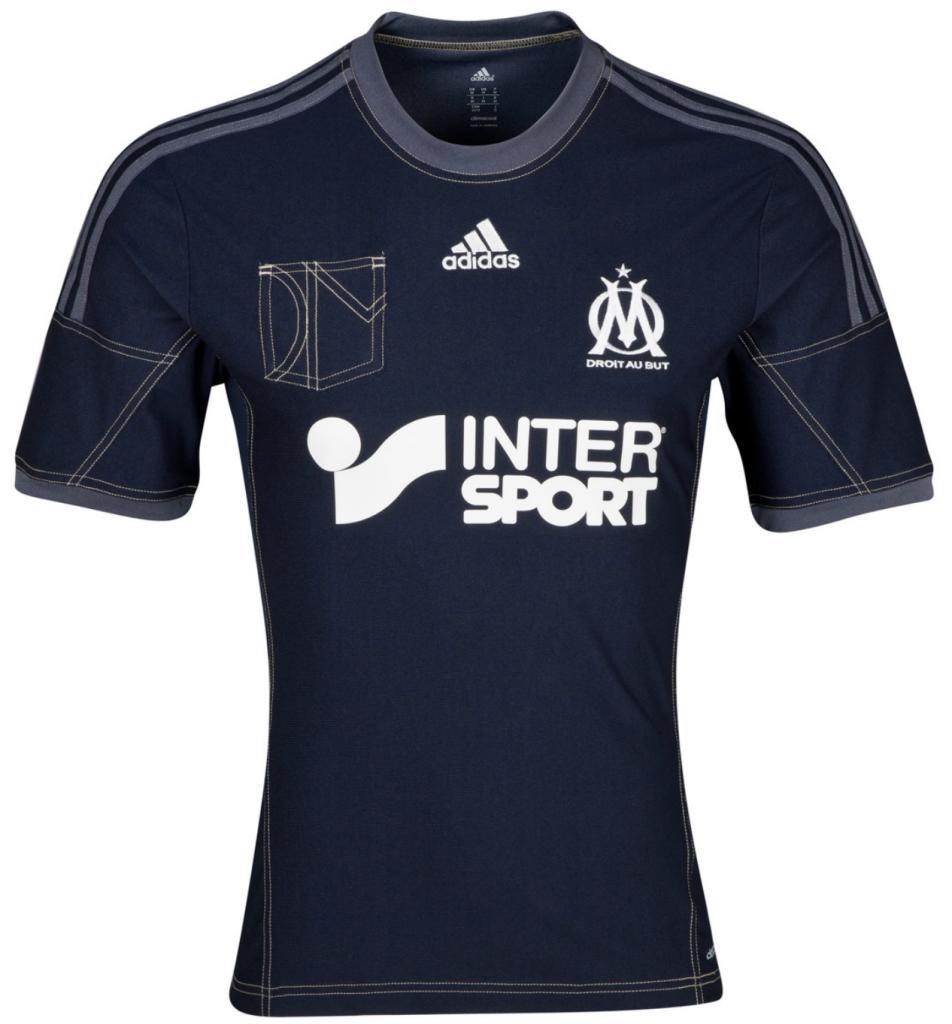 Maillot Extérieur Olympique de Marseille 2013/14 - Manches Courtes