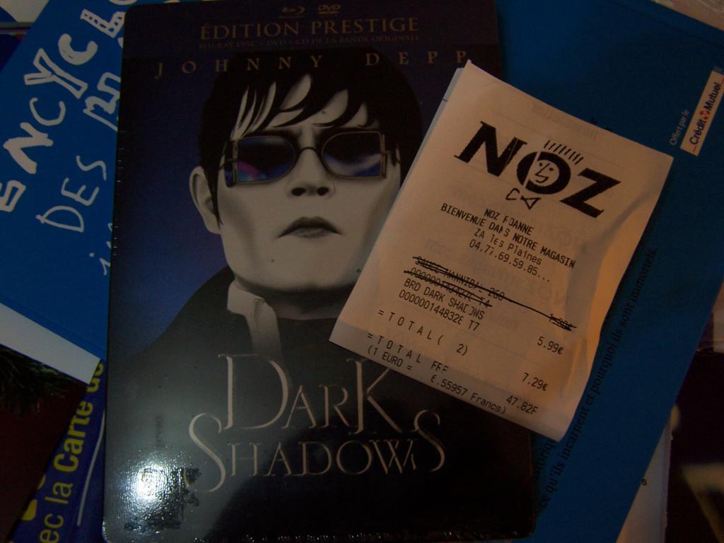 Coffret Blu-Ray Prestige Dark Shadows