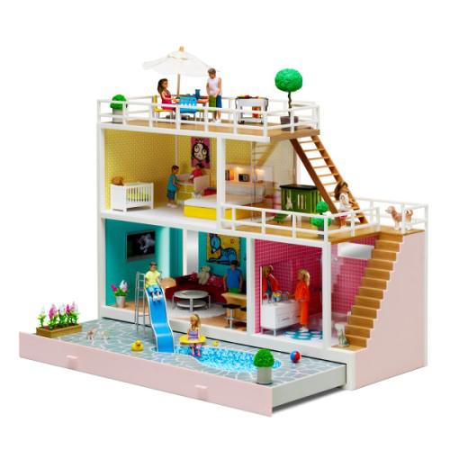 Grande maison de poupées Stockholm