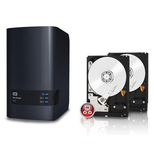 Nas Western Digital  - My Cloud EX2 + 2x WD Red Desktop 2 To
