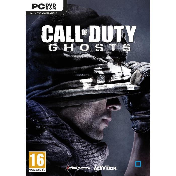 Jeu PC (version boite) Call Of Duty Ghosts