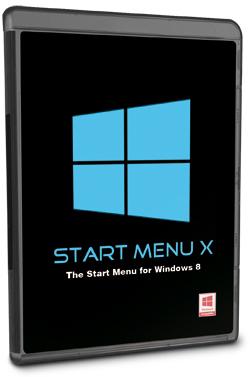 Logiciel PC Start Menu X Pro gratuit pour Windows 8
