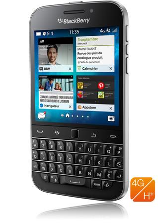 "Smartphone 3.5"" BlackBerry Classic Noir"