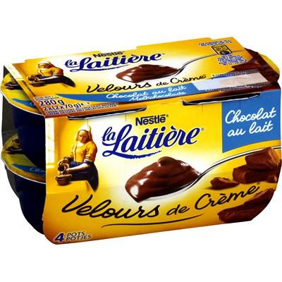 Sélection de lots de produits en promo (voir description) - Ex : 3x4 pots La Latière Velours de Crème chocolat au lait