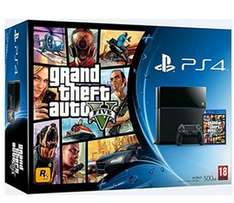 Pack Console Playstation 4 + GTA V