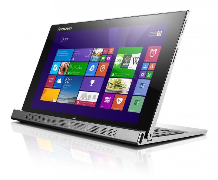 "Tablette 10"" Lenovo IdeaPad Miix 2 + Dock - Clavier Qwertz (59404400)"