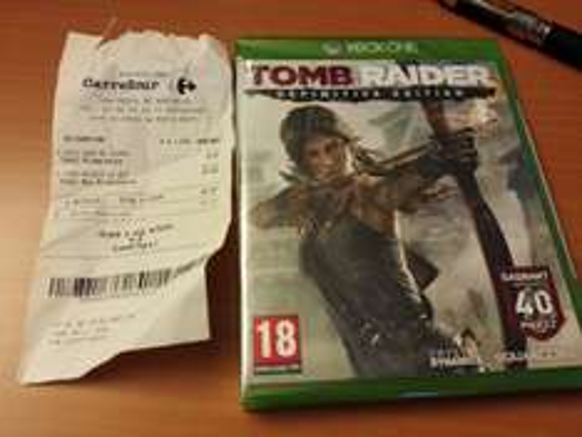 Jeu Tomb Raider HD Définitive Edition sur XBOX One