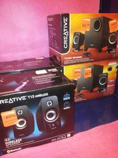 Enceintes Bluetooth Creative T3150 Wireless ou T15 Wireless