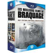 Coffret 4 Blu Ray Heat + The Town + Point Break + Opération Espadon
