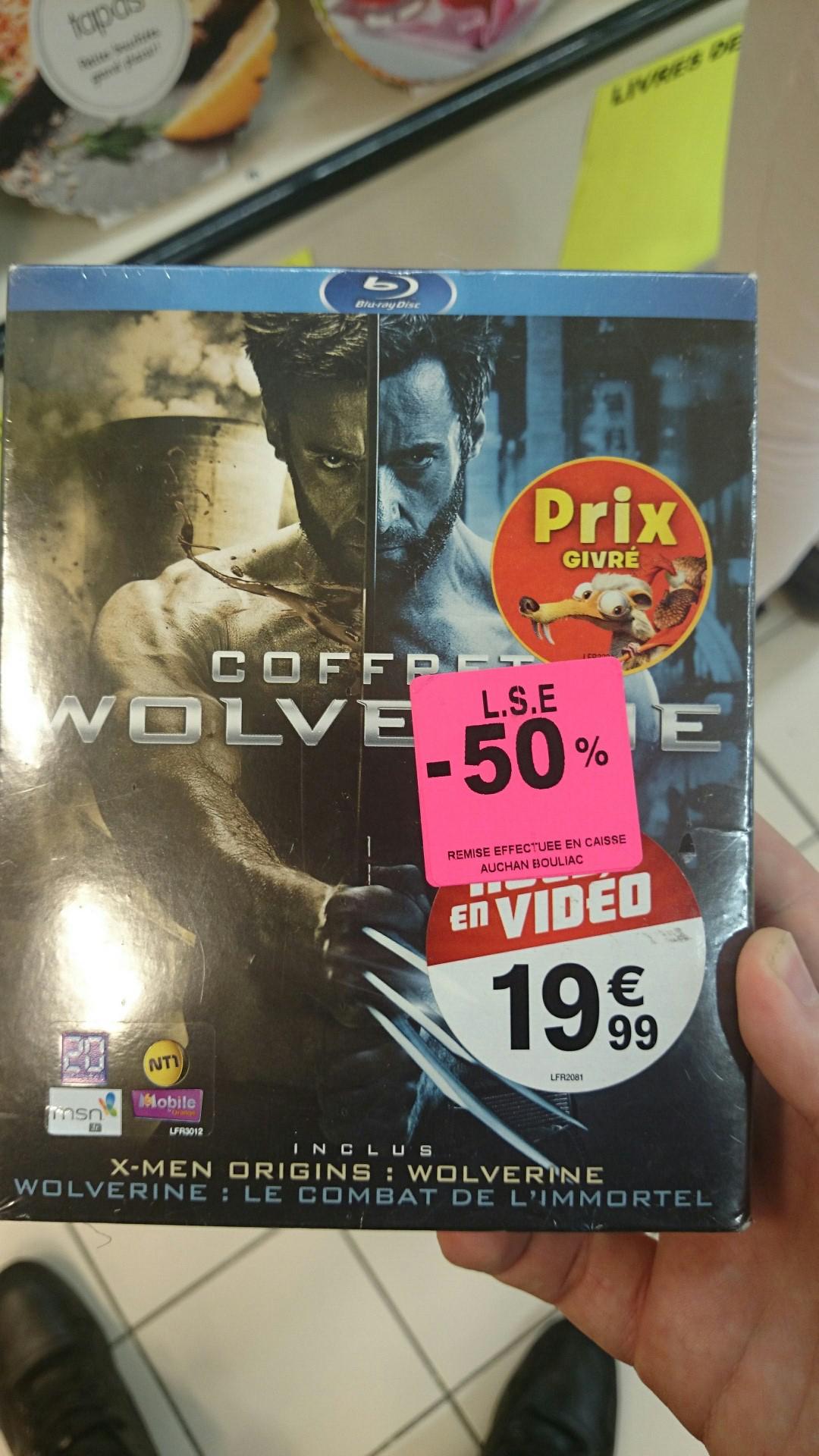 Coffret Blu-ray Wolverine (2 films)