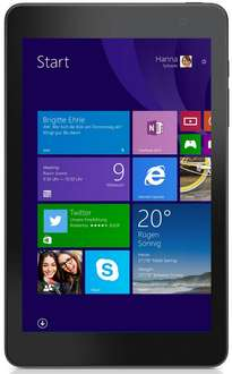 "Tablette 8"" Dell Venue 8 Pro Série 3000 (Atom Z3740D, 1,83GHz, 1Go RAM, 32Go HDD, Win 8)"