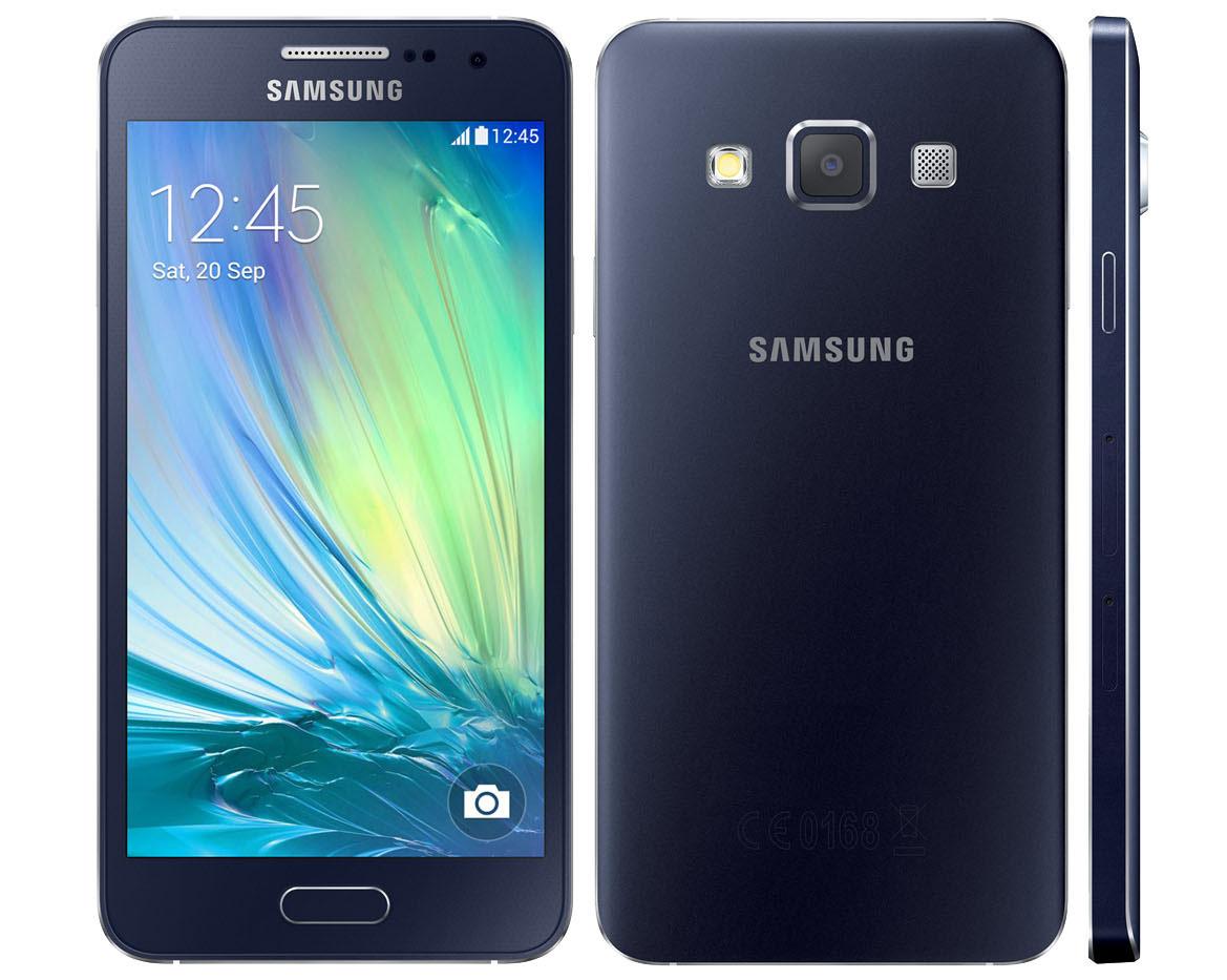 "Smartphone 4.5"" Samsung galaxy A3 - 4G Noir ou Blanc  (ODR de 30€)"