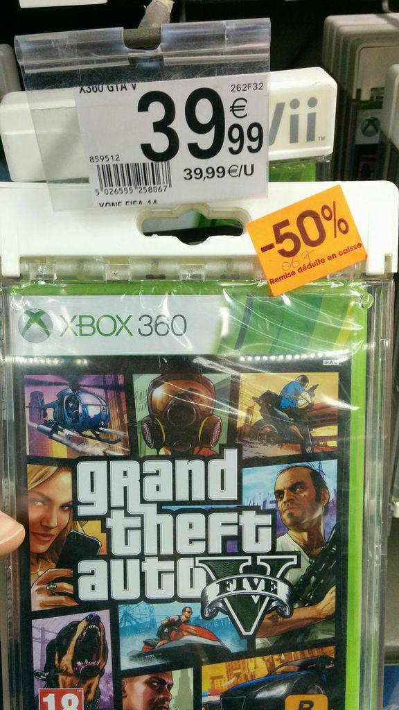 GTA V sur Xbox 360