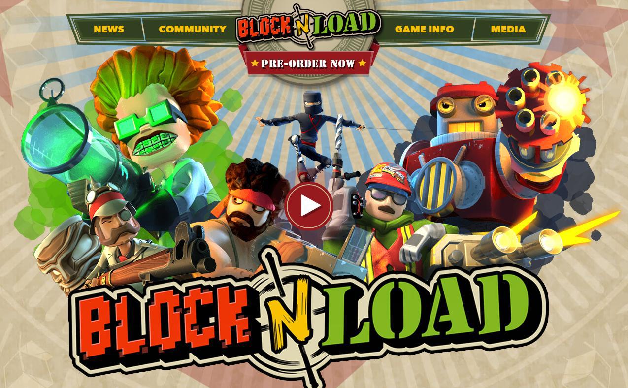 Beta de BlocknLoad gratuite sur PC