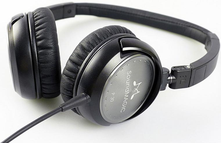 Casque audio SoundMagic P30 Black