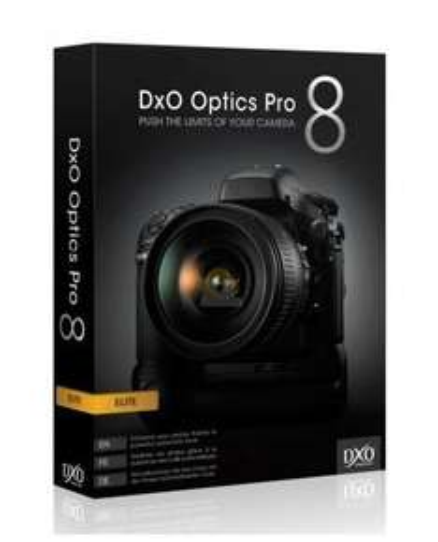 DxO Optics Pro 8 Élite gratuit