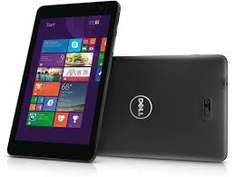 "Tablette 8"" Dell Venue 8 Pro 3000 - Noir ou blanc"