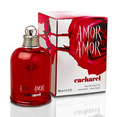 Eau De Toilette Spray Cacharel Amor Amor - 100ml