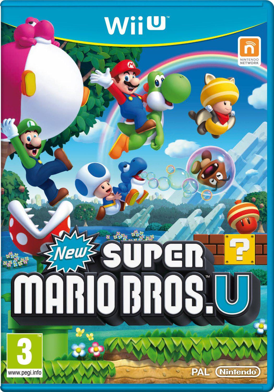 Jeu New Super Mario Bros U sur Wii U