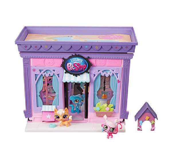 Littlest PetShop - Boutique Littlest Petshop + 3 Petshop Hasbro