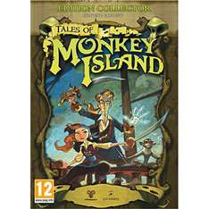 Jeu PC version boîte Tales of Monkey Island - Edition collector