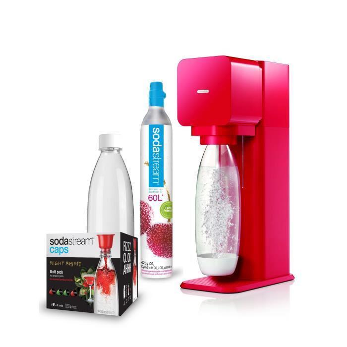 Sodastream Mega Pack Play - Rouge