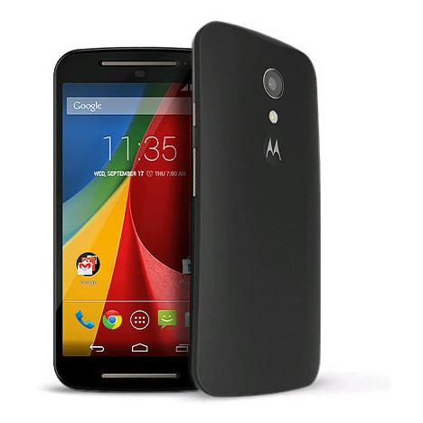 "Smartphone 5"" Motorola Moto G 2ème génération (kitkat 4.4) Noir ou blanc"
