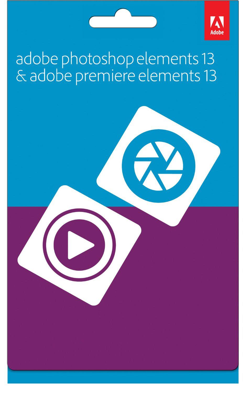 Logiciel Adobe Photoshop Elements 13 & Premiere Elements 13