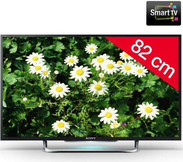 "TV LED 32"" Sony Bravia KDL-32W705B - Smart TV"