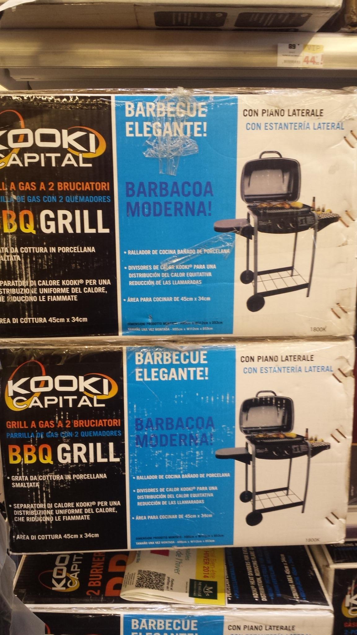 Barbecue à Gaz Kooki Capital