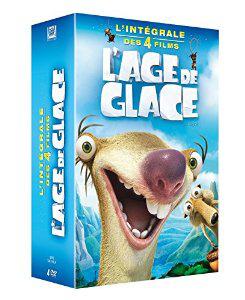 Coffret l'Age de Glace - l'intégrale en DVD