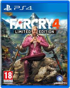 Jeu Far Cry 4 Limited Edition sur PS4 ou Xbox One