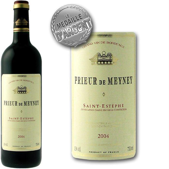 Vin Rouge : Prieur de Meyney Saint-Estèphe 2004