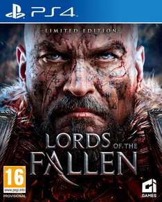 Lords of the Fallen sur PS4 ou Xbox One