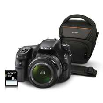 Réflex Sony Alpha SLT-A58 + DT 18-55 SAM II + House Sony + SD 8Go