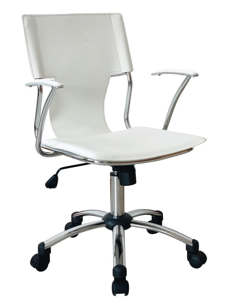 Chaise de bureau Home - Blanc