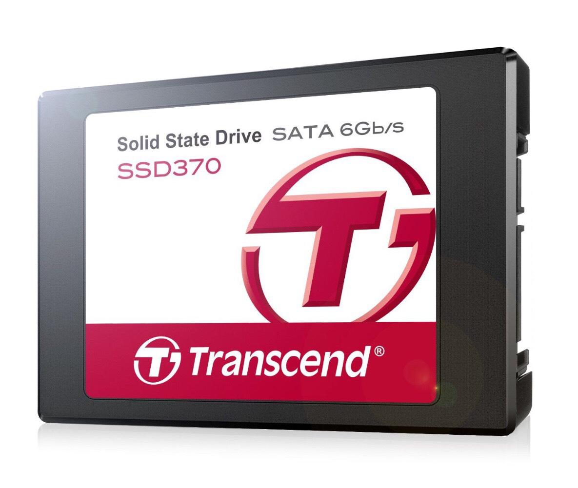 "SSD interne 2.5"" Transcend TS256GSSD370  avec adaptateur 3,5"" - 256 Go SATA III"