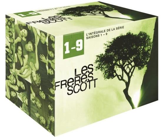 Coffret DVD Intégrale Les Frères Scott (Saisons 1 à 9)