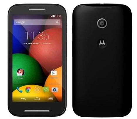 """Smartphone 4.3"""" Motorola Moto E Noir/Blanc (Avec ODR de 20€ et 20€ sur la carte)"""