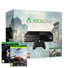 Console Xbox One Console + Assassins Creed Unity + Assasins creed Black Flag + Forza 5 GOTY + Halo Master Chief Collection
