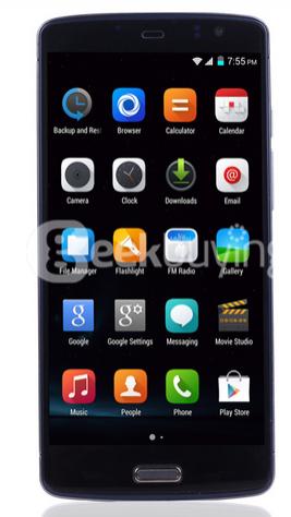 """Smartphone 5.5"""" Ecoo  E04 Plus 3 Go  Ram"""