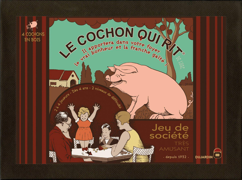 Jeu Le Cochon Qui Rit Version de Luxe Bois (ODR 50%)