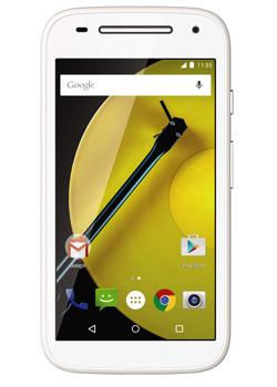 Smartphone Motorola Moto E 4G (Nouvelle Version) + 3 bandes colorées offertes