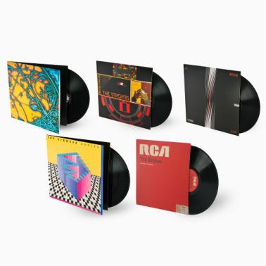 Bundle des 5 vinyls de The Strokes