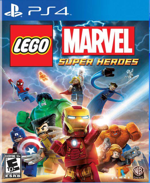 Lego Marvel Super Heroes sur PS4 (Dématérialisé)