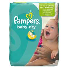Pack de 124 couches Pampers Baby Dry (Taille 6)